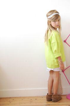 Minnetonka Kids 2-Layered Fringe Boots