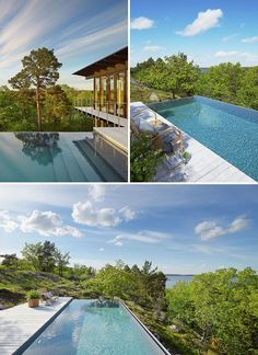 Invisible Edges Death Defying Infinity Pool Designs Water Scapes Pinterest Pool Designs