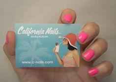 California Nails Sticker