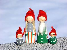 Swedish Christmas in July Handmade Gnome by LittleChristmasStore