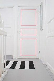 Washi Tape Your Door