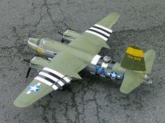 martin b-26 marauder model - maquette aluminium 1/18e scale : 1941-1997 reduct models from TIFFAULT Maurice