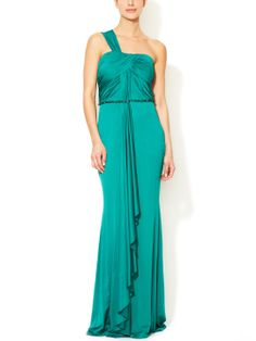Shop Dessy Bridesmaid Dress - 2858 in Lux Chiffon at Weddington Way. Find the perfect made-to-order bridesmaid dresses for your bridal party in your favorite color, style and fabric at Weddington Way. Halter Gown, Chiffon Gown, Satin Gown, Silk Satin, Daniela Sea, Green Bridesmaid Dresses, Bridesmaids, Dessy Bridesmaid, One Shoulder Gown