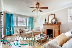 LIVE in Denver's Park Hill in this charming Craftsman bungalow http://www.liveurbandenver.com/blog/live-in-park-hill-in-this-lovely-park-hill-bungalow.html #liveurbandenver