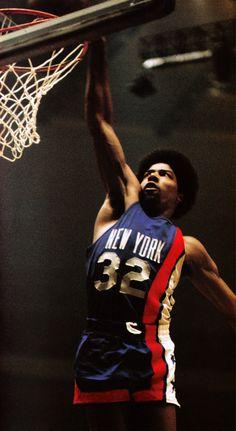 """Julius """"Dr. J."""" Erving - NY Nets"""