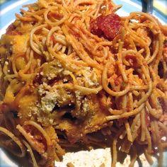 Baked Spaghetti - Green Cuisine Queen
