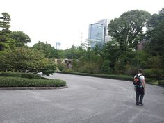 you think you are in a forest...exept for the peeking buildings. Tokyo Imperial Palace