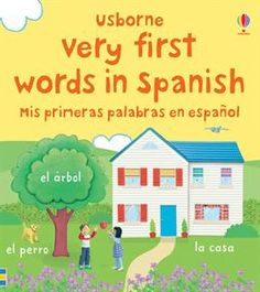 Usborne - My Very First Words in Spanish board book $7.99