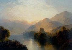 1889 Glengarry Castle by George Blackie Sticks:
