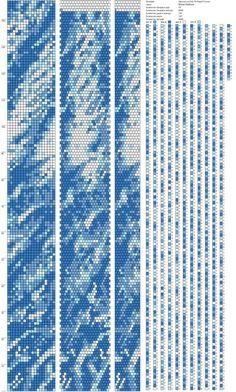 18 around bead crochet rope pattern Crochet Bracelet Pattern, Beaded Necklace Patterns, Crochet Beaded Bracelets, Bead Crochet Patterns, Bead Crochet Rope, Seed Bead Patterns, Beaded Crafts, Beading Patterns, Beaded Crochet