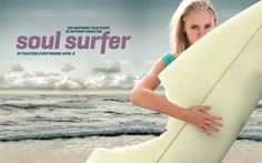 Soul Surfer.  I just watched it like 2 min ago and i... LOVE IT!!!  so awesome movie have to see!