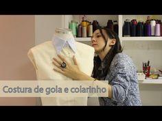 Como costurar gola e colarinho - YouTube