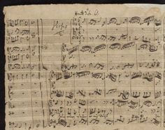 Bach: Der Herr ist mein getreuer Hirt, BWV 112, signed autograph, April 8, 1731 (Morgan Library)
