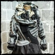 Based in Leaburg Oregon, Ethyria sells women clothing aimed at making all women feel magical and irresistible through carefully crafted hand stiched clothing. Slow Design, Black And Grey, Gray, Black Sweaters, Clothes For Women, Classic, Handmade, Fashion, Grey