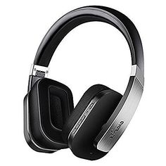 Riroad Bluetooth Wireless Active Noise Cancelling Headphone With Microphone (Black)