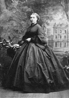 Victoria, Princess Royal of England, Crown Princess of Prussia, July 1861.   In the Swan's Shadow