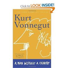 This book made me fall in love with Kurt Vonnegut.  I heard a quote being read on the radio and decided to look into it.  Amazing.