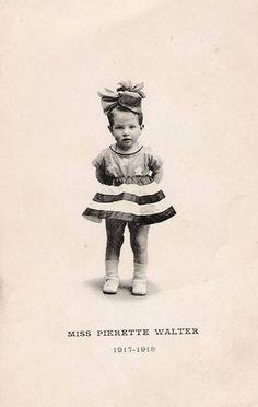 thesingingcanary: Pierette (would had be a nice funny girl im sure. :/ ) www. Vintage Children Photos, Vintage Pictures, Old Pictures, Vintage Images, Old Photos, Moving Pictures, Vintage Ephemera, Vintage Cards, Vintage Postcards