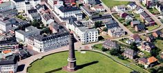 Upstalsboom Seehotel Borkum - Luftaufnahme