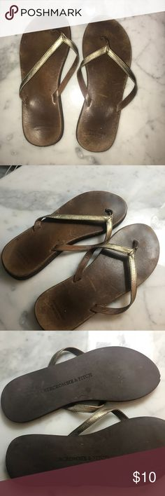 4ae7447f656 Abercrombie   Fitch leather sandals Abercrombie   Fitch leather sandals  Abercrombie   Fitch Shoes Sandals Leather