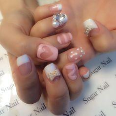 #ShareIG #네일#네일아트#젤네일#nail #nails #nailart #gelnail #gelnails #cutenails #trendynail #frenchnails #bow #blingblingnails #lanails #lakoreatown #melrosenails #sugarnail