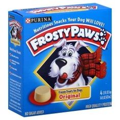 Make Frosty Paws dog ice cream right at home. Here's the recipe...it's easy!  -- Enjoy, from the folks at ActiveDogToys.com