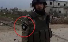 Just an ordinary Turkish-backed 'moderate rebel' in the Syrina province of Idlib. He wears an ISIS insignia and keeps strong. Keep Strong, Religious Symbols, Flag Design, Everyone Knows, Rebel, Shit Happens, Feelings, War, Twitter