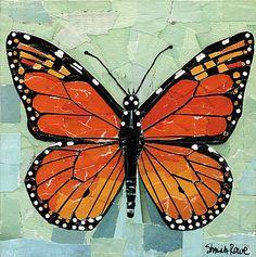 Shawna Rowe - Paper Butterfly - Monarch
