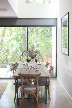 """This home is beautiful! Home Inspiration.  Georgia's """"Primitive Modern"""" Austin Home — House Tour   Apartment Therapy"""