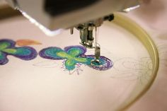 7.14  Free-motion machine embroidery is a very useful skill for quilters. But did you know it can also be used as a drawing instrument to create embroidered works of art or embellishments? You can! And we're here to show you how! Read on to discover how to create embroidered works of art on your own home sewing machine!