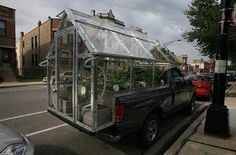 mobile urban truck garden
