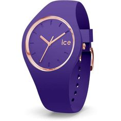 Ice Watch Uhr Ice Glam Violet medium 015696 Ice Watch, Junghans, Smart Watch, Watches, Medium, Color, Fashion, Automatic Watch, Leather
