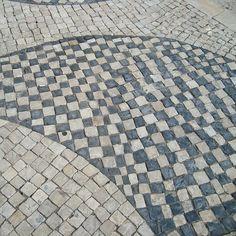 Calçada portuguesa - Pedras Portuguesas, Lisboa, Portugal
