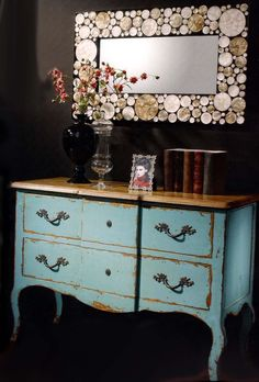 1000 images about decoracion vintage on pinterest mesas for Decoracion de comodas