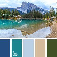 бледно-голубой, болотный, васильковый, изумрудный, коричневый, лазурный, песочный, приглушенный синий, сине-зеленый, синий, тёмно-зелёный, цвет воды, цвет горного озера, цвет песка, цвет чирок.