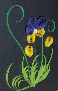 Quilling with Fun: Gallery Paper Quilling Flowers, Origami And Quilling, Paper Quilling Designs, Quilling Paper Craft, Quilling Patterns, Paper Crafts, Diy Crafts, Oragami, Papier Diy