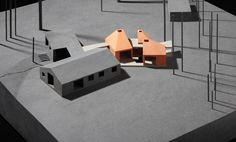 Medd house extension by Duggan Morris Architects Architecture Sketchbook, Architecture Student, Architecture Design, Duggan Morris, Timber Roof, Model Sketch, Arch Model, House Extensions, Scale Models