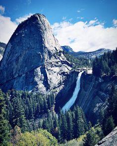Nevada Falls in Yosemite. (Click for more travel pics!)