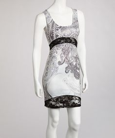 Take a look at this Black Paisley Lace Dress by Boho Chic-LA on #zulily today! $39.99, regular 75.00