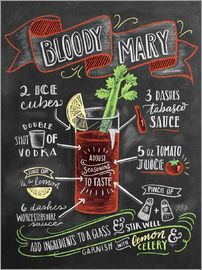 Lily & Val - Bloody Mary Rezept