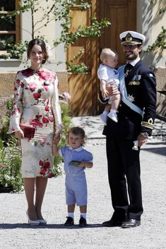 Princess Adrienne Is Too Precious For Words at Her Christening Ceremony in Sweden