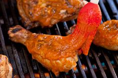 Chipotle-Nectarine Barbecue Sauce Recipe_  By Christine Gallary_  Adding the sweet flavor of summer stone fruit to a tangy barbecue sauce is a simple and delicious twist on tomato-based barbecue sauces.