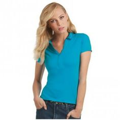 Promotional Ladies Polo Shirt-Ladies B&C Love Spice Polo Shirt, Colours White Or Black :: Clothing and Textiles :: Promo-Brand Merchandise :: Promotional Branded Merchandise Promotional Products l Promotional Items l Corporate Branding l Promotional Branded Merchandise Promotional Branded Products London