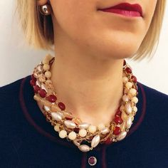 Collana Dolman #manlioboutique Info: WhatsApp 329.0010906 #accessories #bijoux #jewels #fashion #style #necklaces
