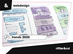 Webdesign Trends 2020 Design Web, Web Design Trends, Marketing, Ecommerce, Creative, Map, Blog, Advertising Strategies, Web Design