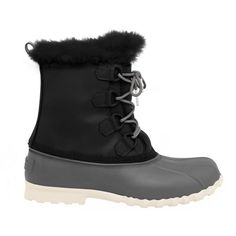 Stand up to those frigid days knowing your feet are good to go with the NativeJimmy 2.0 winter boot! Features a trendy duck boot design Combination faux leathe