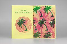 F U N Z I N E - Nº. 2 Summer Melancholy on the Behance Network
