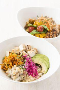 """""""ニューヨークの朝食の女王""""として有名のレストラン「サラベス」に、初の丼(ボウル)メニューが登場。ルミネ新宿店、大阪店のディナータイム限定で提供中だ。"""