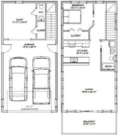 Excellent Floor Plans — #20X40H6K $29.99...