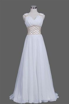 White Dress which resembles strongly the dress that Princess Diana of Themyscira a.k.a. Wonder Woman wore on her island. Slightly more modest in its length, though.: